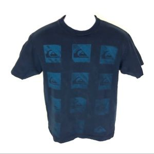Quiksilver Men's Blue T-Shirt L